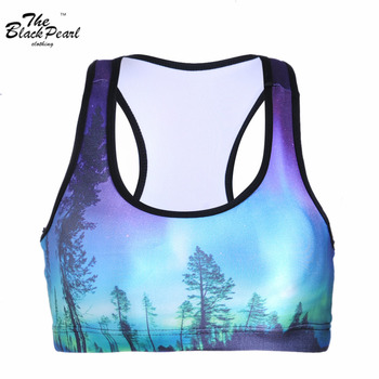 2015 New Women Sports Bra For Running Gym Padded Wirefree Shakeproof Push Up Seamless Fitness Top Bras For Woman Summer Style