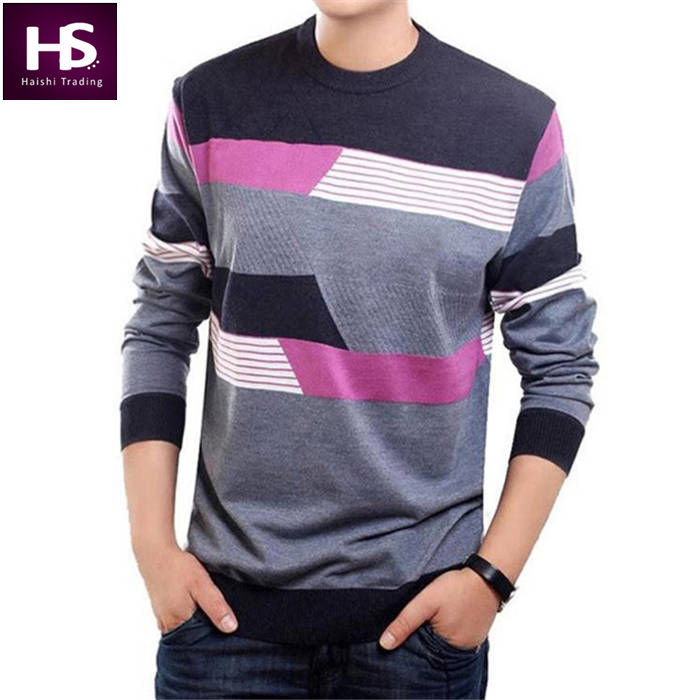 O-Neck Sweater Men Clothing Mens Sweaters Knit Wool Cashmere pullover Men Brand Pull Homme Casual Dress Long Sleeve Shirt Brand(China (Mainland))
