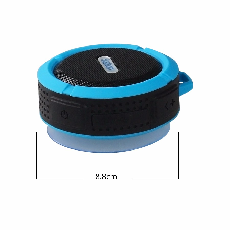portable Waterproof Wireless Bluetooth Speaker loud speaker receiver sound box Handsfree subwoofer For xiaomi notebook phone (2)