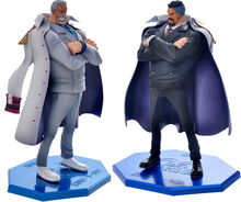 Buy One piece action figure toy 1/7 scale painted figure white agedness ver. vice admiral Monkey D Garp figure doll brinquedos anime for $53.63 in AliExpress store