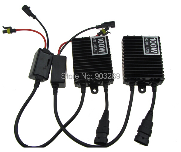2014 New Brand 100W AC HID XENON DIGITAL CONVERSION KIT H1 H3 H7 H11 9005 9006 HB3 HB4 H8 H9 Free Shipping(China (Mainland))