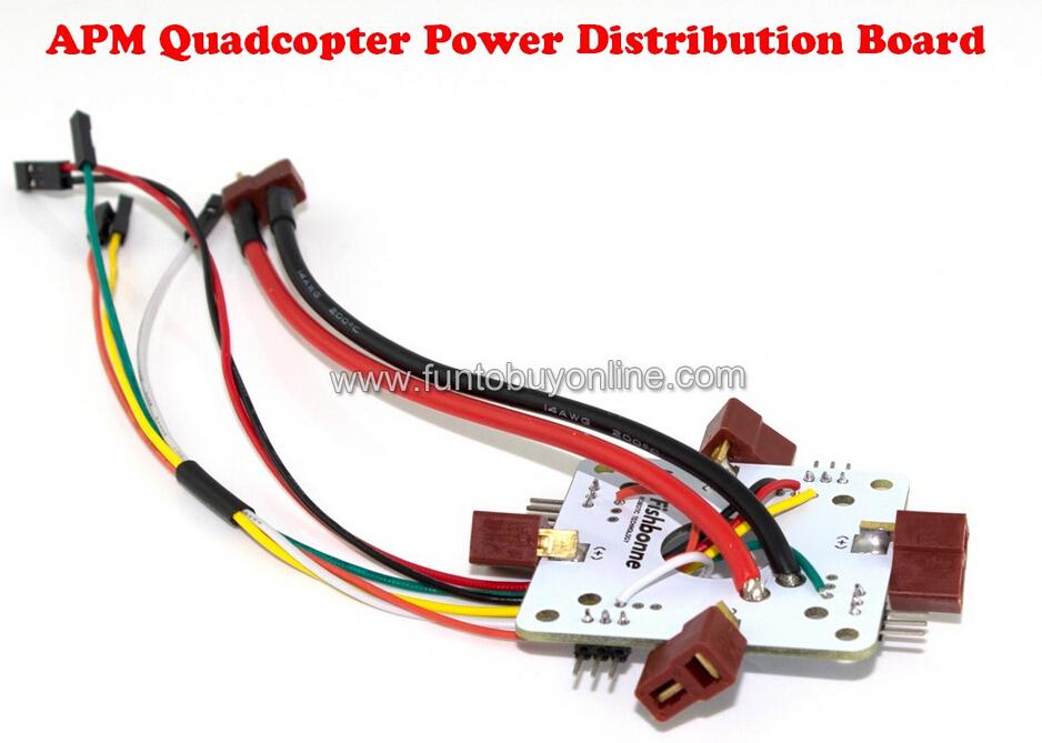 APM Quad Power Distribution Board APM2.5.2 Power Supply Board Multicopter Mutlirotor Quadcotper Hexacopter(China (Mainland))