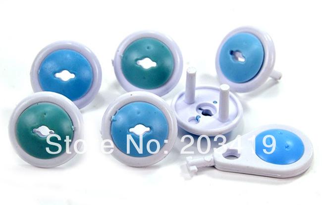6 шт./лот / pack ребенок ребенок дети электрический разъем безопасности пластиковые безопасности безопасная фиксатор крышки подключить два контактный фазу whcn