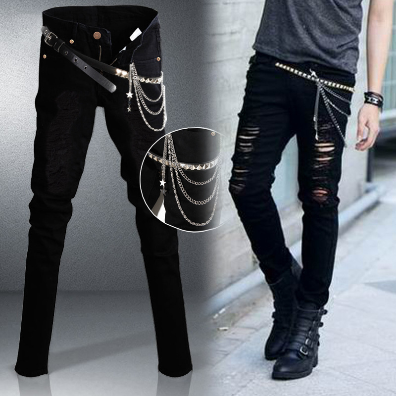Punk skinny jeans for guys – Global fashion jeans models