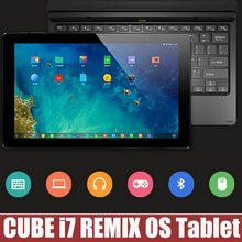 Original CUBE i7 REMIX OS Tablet PC Intel Z3735F Quad Core 2GB+32GB GPS  WIFI Bluetooth HDMI 2MP+5MP 11.6inch 1920X1080(China (Mainland))
