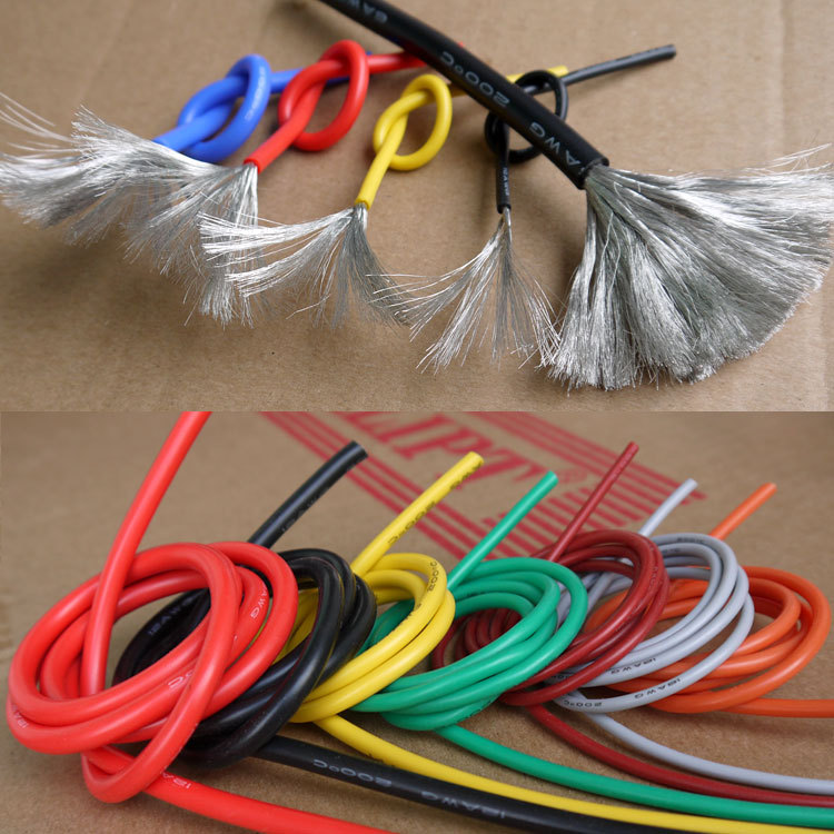 10AWG Flexible Silicone Wire Cable Soft High Temperature Tinned copper UL VW-1(China (Mainland))