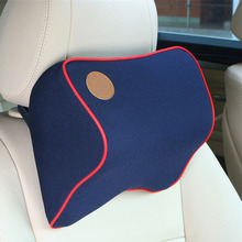 Buy Hot Comfortable Car Seat Supports Polyester Headrest Neck Guard Car Interior Supplies Auto Vehicles Accessories for $10.46 in AliExpress store