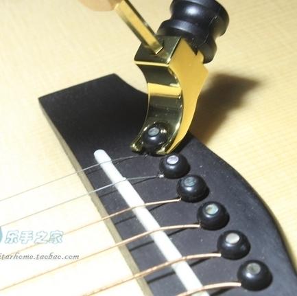 Guitar Bridge Pin Puller Rubber Hammer DIY Guitar tools