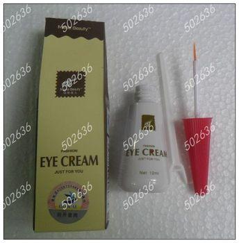 Free Shipping Eye Cream Eyelash Extension Makeup Favor Double Eyelid 12ml False Eyelash Glue (2pcs/lot)