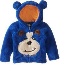 hot sale 2015 children's clothing boys girls Dinosaur Hoodie Fleece cartoon dog kids sweaters jackets baby coats(China (Mainland))
