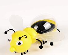 Ant insect Solar Crianças Brinquedos Magia Movido A Energia Solar Barata Formiga Inseto Jogar Aprender Educacional Solar Brinquedos Da Novidade para o Presente Das Crianças(China)