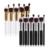 Hot Sell 10 PCS/Set Professional Cosmetic Makeup Tool Brush Brushes Set For Powder Eyeshadow Foundation Make up Set maquiagem