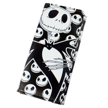 Anime The Nightmare Before Christmas Halloween Town Pumpkin King pu wallet(China (Mainland))