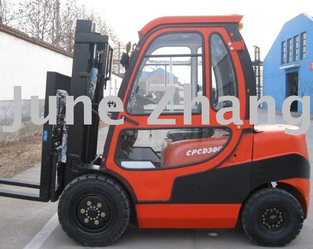 New High quality Forklift, Diesel Engine Forklift, 2ton - 10Ton Forklfits. free shipping