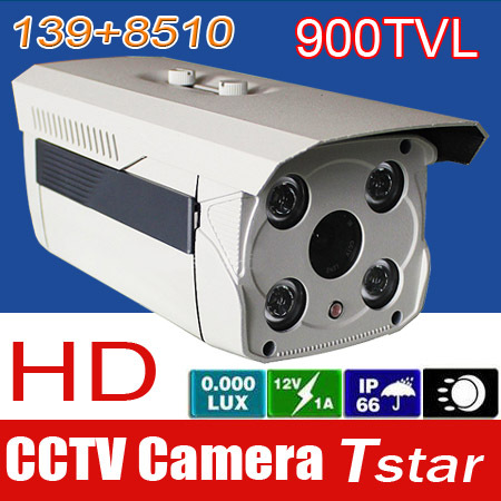 Камера наблюдения Tstar MAGLITE 139 + 1/3 8510 900TVL CCTV 1/3  914M фонарь maglite 3d серебристый 31 3 см в блистере 947170