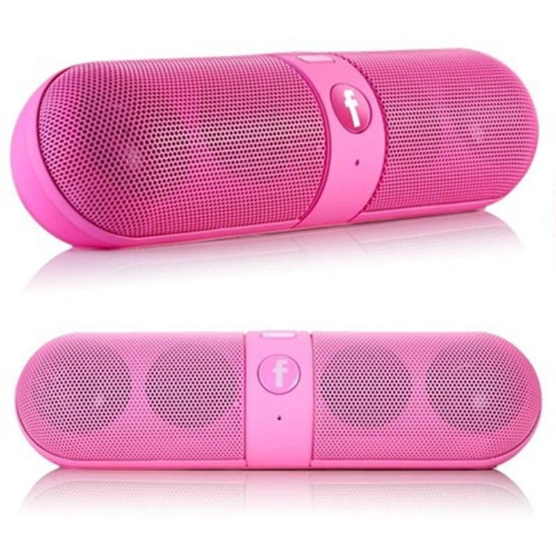 Portable Bluetooth Speaker Mini Capsule Computer Speaker Outdoor Hands-free Wireless Speaker For Mobile Phone
