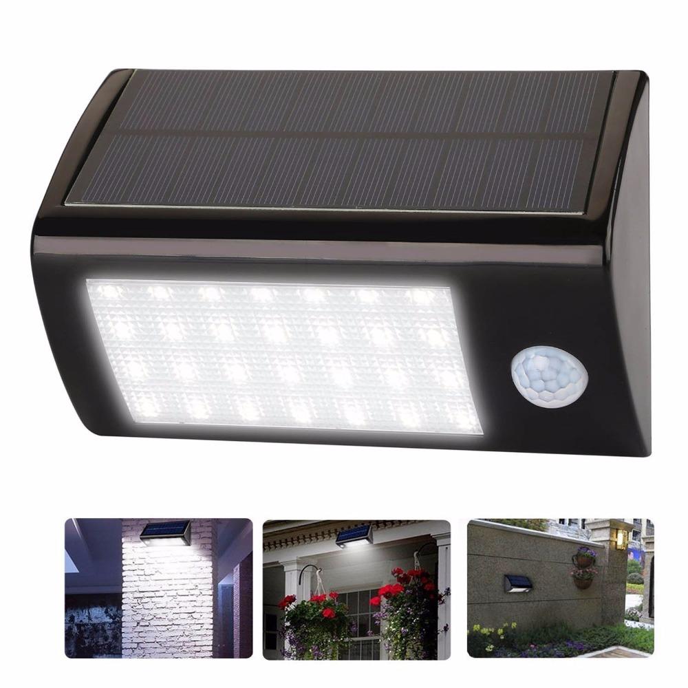 28 LED Solar Lights Motion Sensor Outdoor Light Waterproof Auto Security Night Detector Lighting for Patio Garden Pool Path Lamp(China (Mainland))
