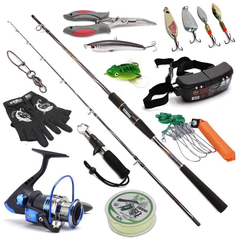 fishing spinning rods and reel combo spinning