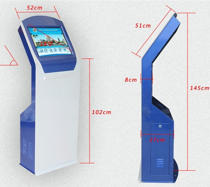 WIFI Touch self service payment terminal atm kiosk with thermal printer(China (Mainland))