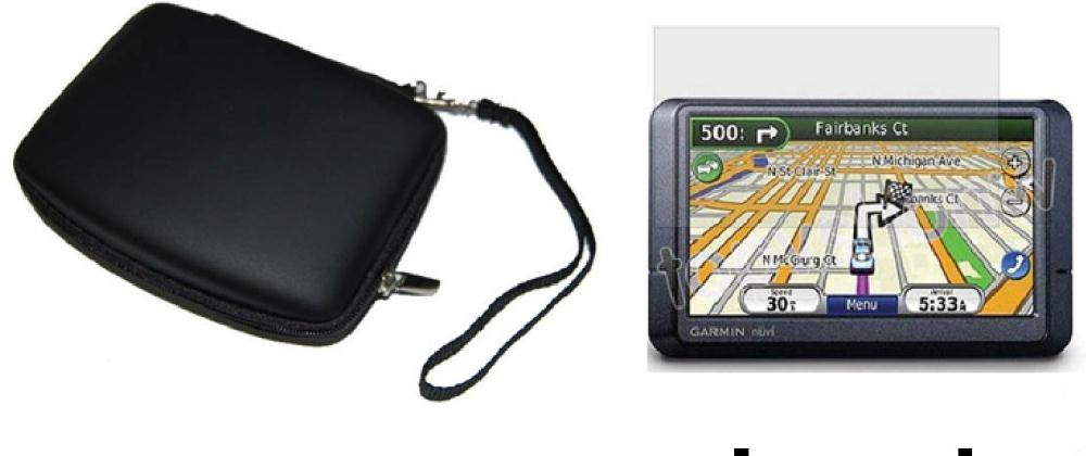hard Case for GARMIN NUVI 1300T Wide Portable GPS Unit()