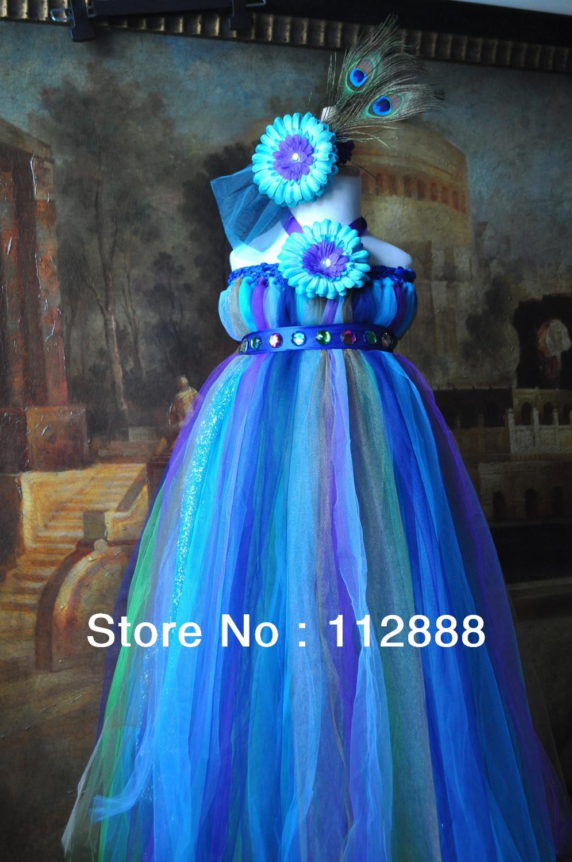 Blue Tutu Dress