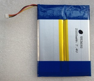 553692 polymer lithium battery tablet 7.4v 2100mah - Shenzhen B&K Rechargeable Battery(HK storeCo.,Limited)