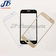 10 шт./лот белое и черное золото лучших объектив внешний Стекла Для Samsung Galaxy J2 J200F Передний экран с логотипом Замена Бесплатная доставка(China (Mainland))