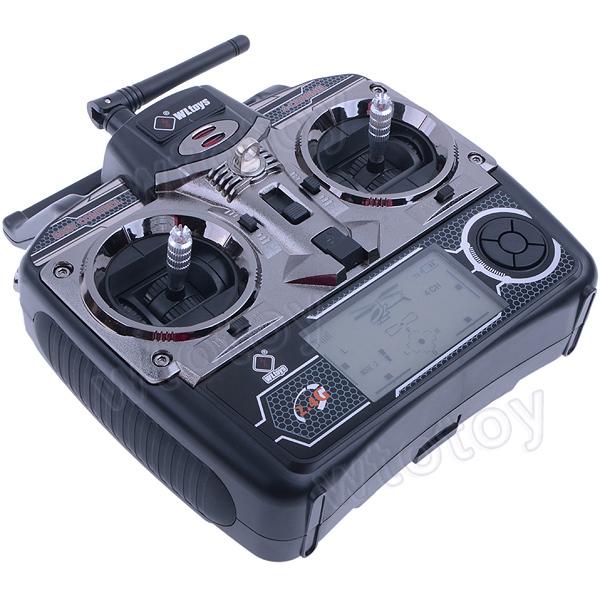 "4Ch 2.7"" LCD Transmitter/ Controller Set Parts For WLToys V911 V912 V929 V939 V949 RC Helicopter"