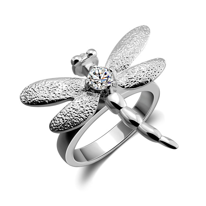 Fashion Jewelry 925 Sterling Silver Rings with Charm Jewelry for Women(China (Mainland))