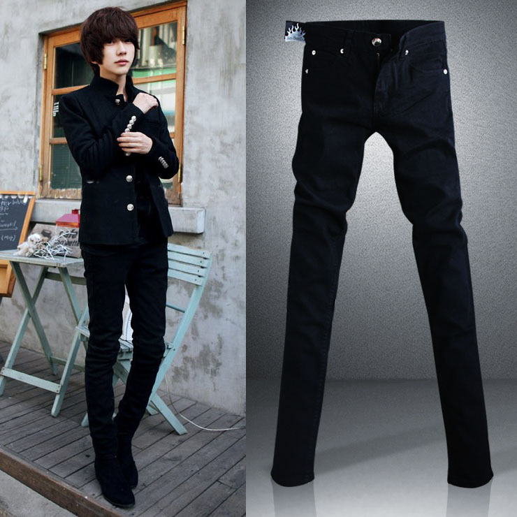 Black Skinny Jeans Men Outfit
