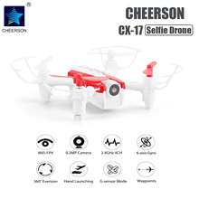 Buy Cheerson CX-17 RC WIFI FPV Quadrocopter Camera HD 0.3MP Gyro Mini Selfie Drone Wide Angle Camera Hold Flight RC Drones for $39.37 in AliExpress store