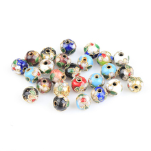 Buy 200pcs/lot 8MM Mixed Assorted Cloisonne Charms Beads Carve Flower Filigree Cloisonne Beads Fit Diy Bead for $8.58 in AliExpress store