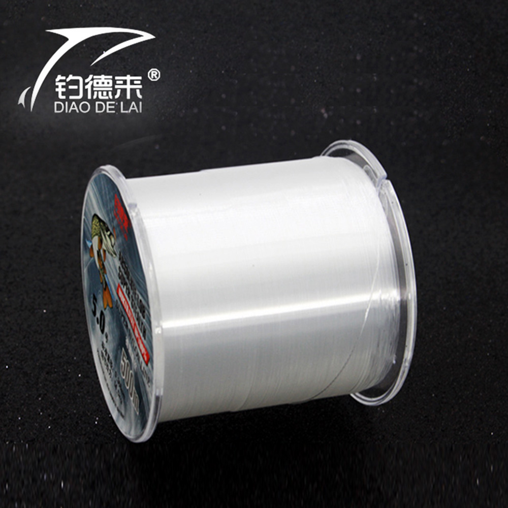 Extreme Strong 500M 100% nylon line fishing line Fly carp line fishing line rope monofilament fish Fishing Tackle(China (Mainland))