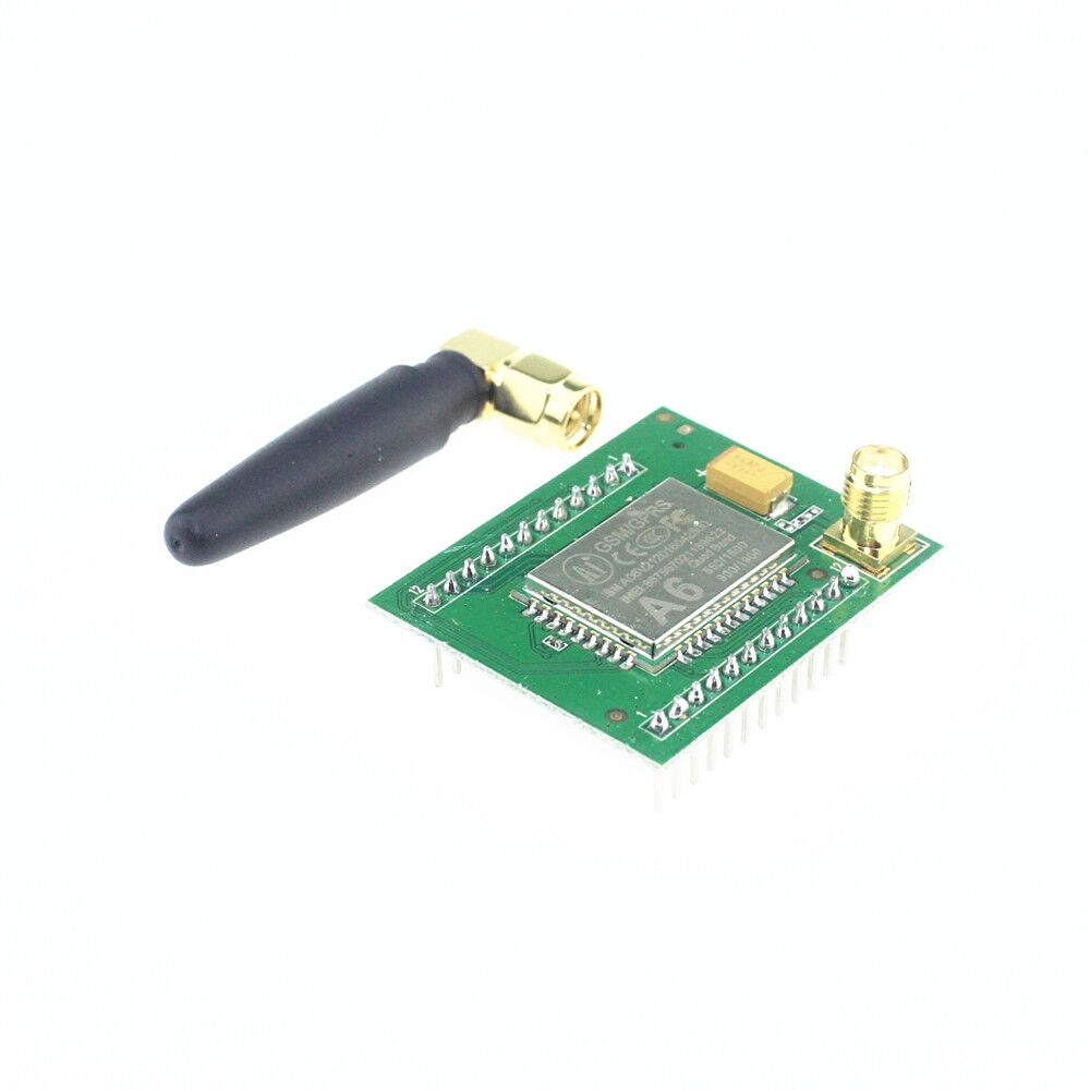 Free shipping GPRS module GSM module A6/SMS/Speech/board/wireless data transmission adapter plate(China (Mainland))
