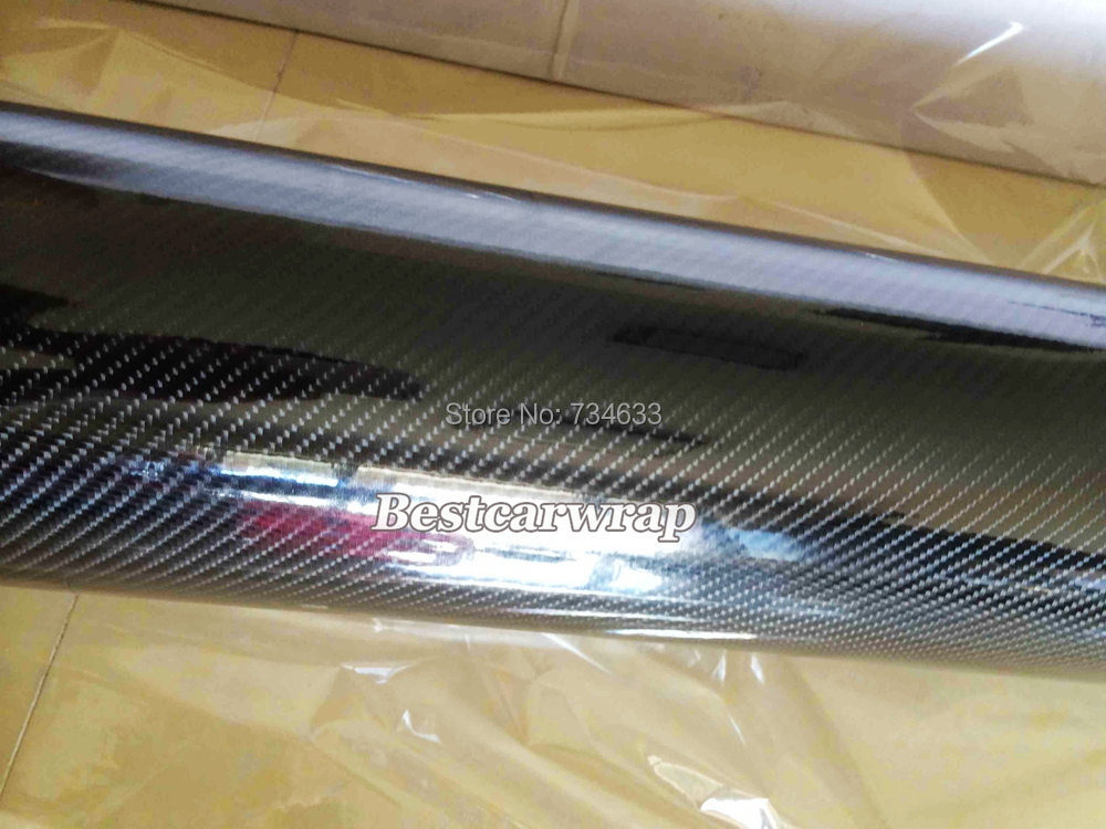 5d carbon fibre vinyl wrap Gloss carbon vinyl wrapping film Foile stickers Foile(14).JPG