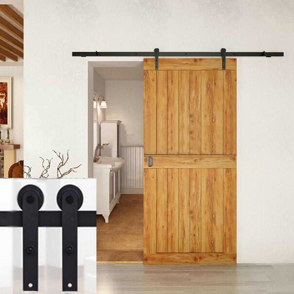 7 5ft black pays american style design rectiligne bois de for Home hardware porte et fenetre valleyfield
