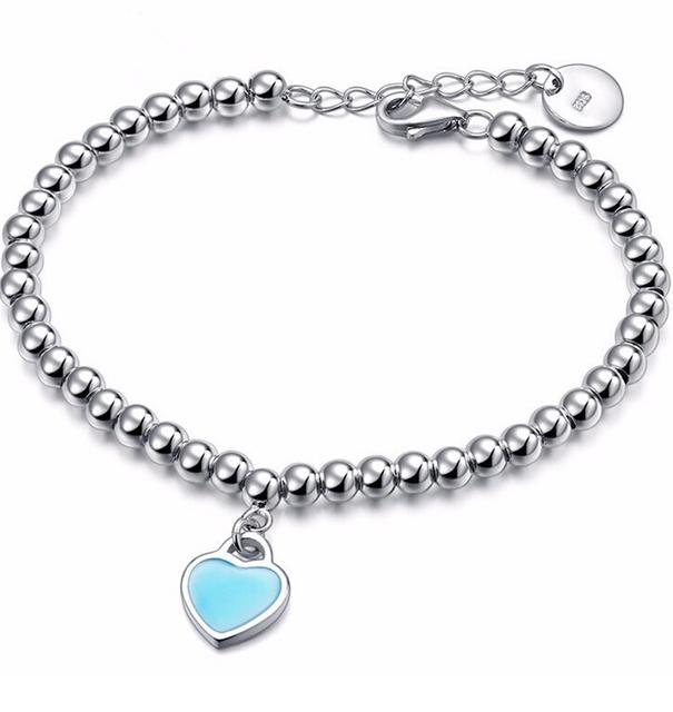 Мода ленты покрытием простой форме сердца браслеты для женщин ну вечеринку и рождественский ...