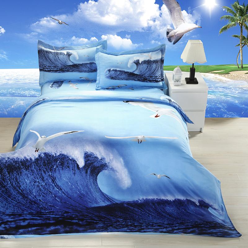 housse de couette poissons achetez des lots petit prix housse de couette poissons en. Black Bedroom Furniture Sets. Home Design Ideas
