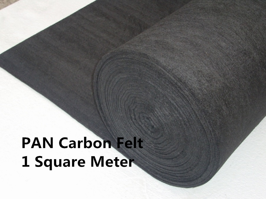 Carbon Graphite Felt PAN-Based PANCF310001000,  High electriccal load capacity,Uniform temperature profile<br><br>Aliexpress