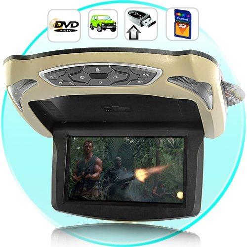 """9"""" inches Roof Mount Car DVD Player LCD Screen Monitor"""