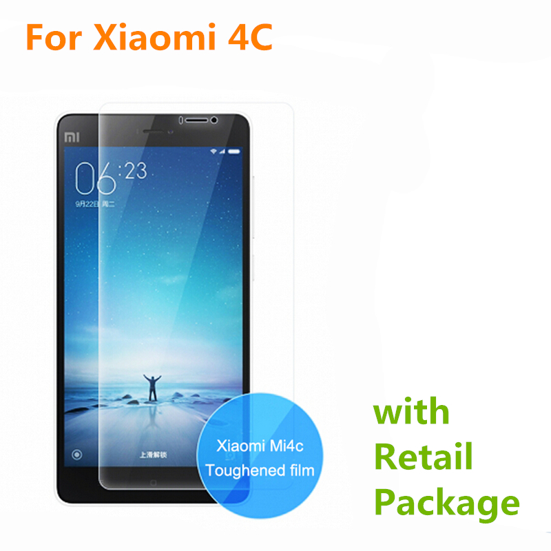 Good Quality 0 26mm 9H Tempered Glass For Xiaomi 4C Mi4C M4C Screen Protector High Transparent
