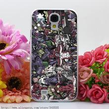 363OI Neon Genesis Evangelion Hard Transparent Cover Case for Galaxy S2 S3 S4 S5 & Mini & S6 S7 Edge Plus