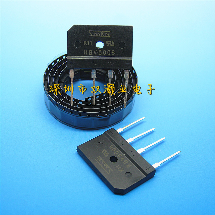 10PCS New Original RBV5006 5A 600V high voltage and high current Rectifier(China (Mainland))