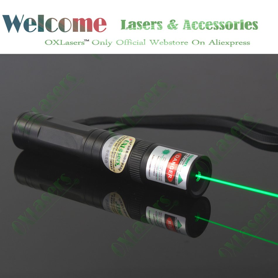 OXLasers SPECIAL OFFER OX-G1 mini 100mW green laser pointer torch with visible beam FREE SHIPPING(China (Mainland))