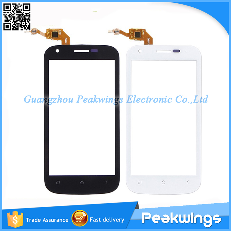 5pcs/lot Touch Screen Digitizer Panel Parts Replacement For Wiko Cink Peax(China (Mainland))