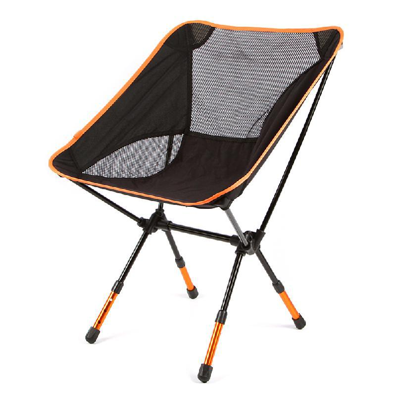 3 Height Adjustable Chair Portable Folding Seat Oxford