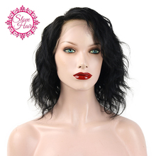 Brazilian Bob Glueless Full Lace Wigs,Braided Lace Front Wigs Human Hair Wigs,Short Full Lace Human Hair Wigs For Black Women(China (Mainland))
