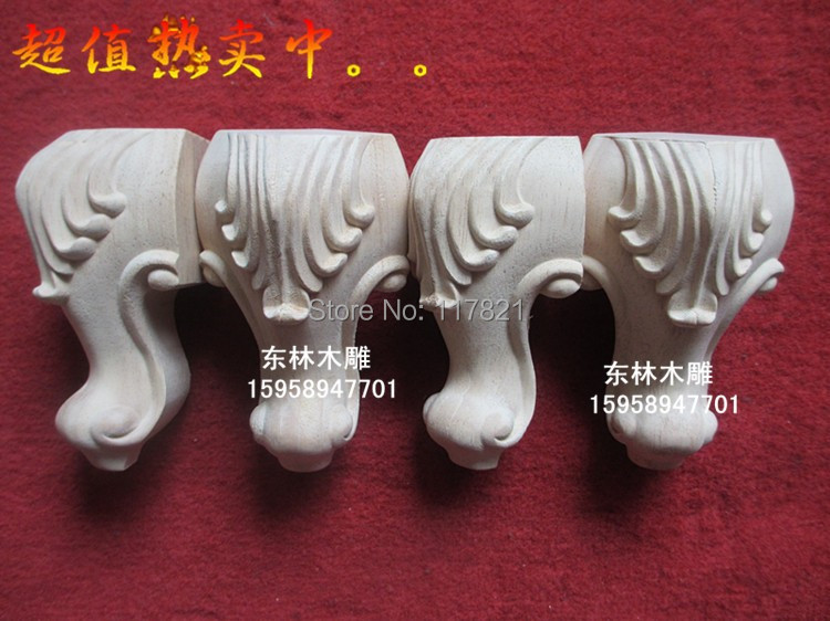 China dongyang woodcarving household act the role ofing is tasted table leg wooden flower tank legs furniture table leg zt - 087(China (Mainland))