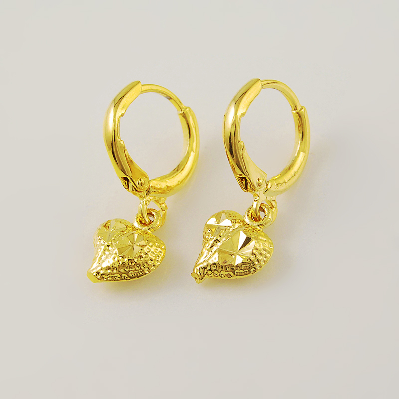 new design of gold earrings the image. Black Bedroom Furniture Sets. Home Design Ideas