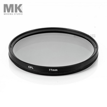 Meking 77mm CPL circular Polarizing Lens Filter for Canon Nikon Sony DSLR camera photo studio accessories